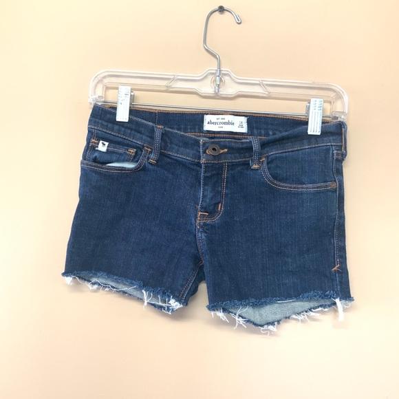 Abercrombie Kids Cut Off Jean Shorts 14